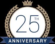 QAIC 25th Anniversary Logo